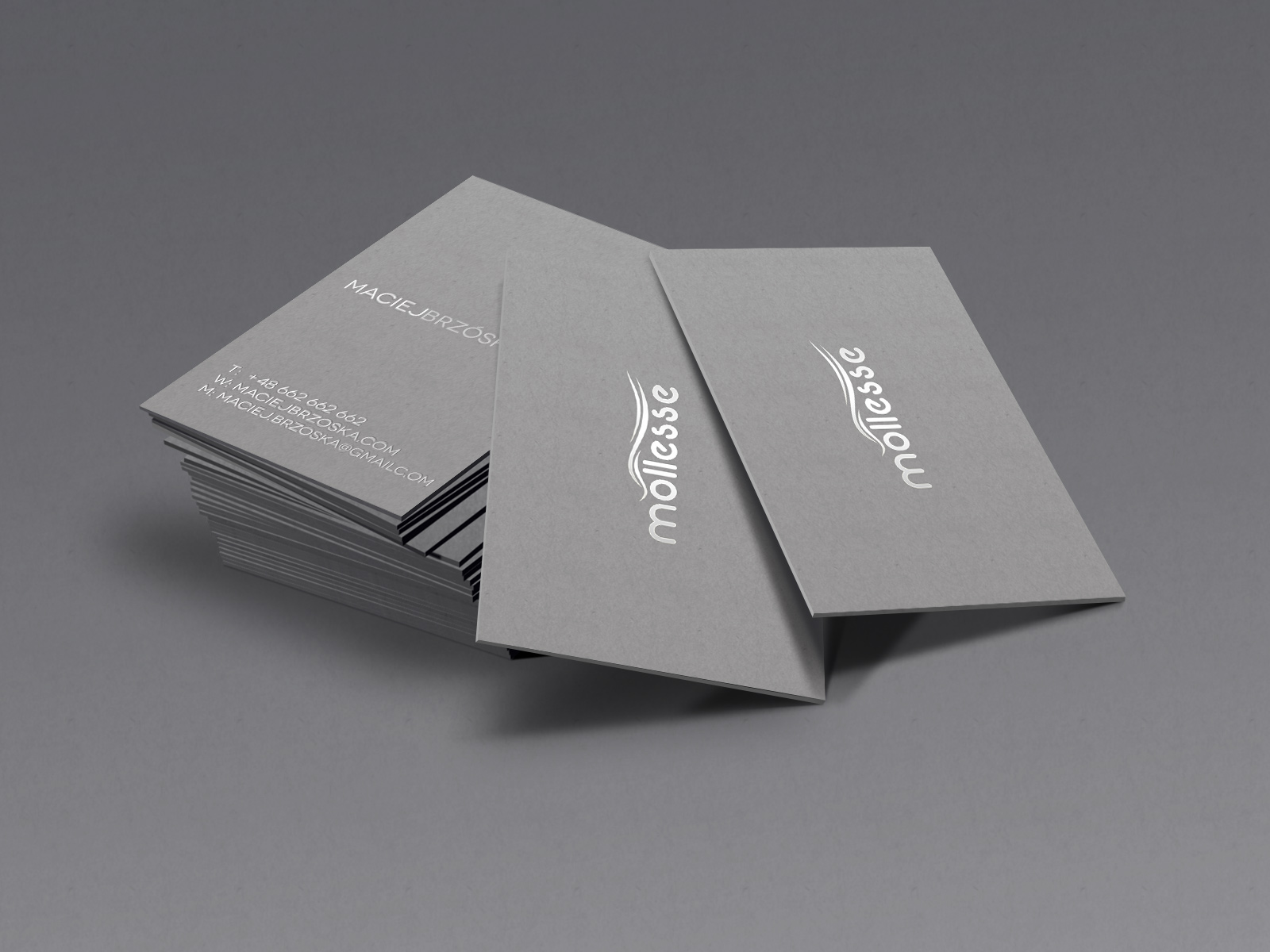 mollesse-business-card